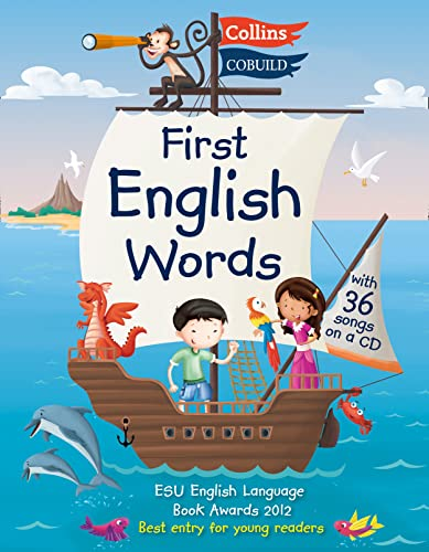 First English Words (Incl. audio CD): Age 3-7 (Collins First English Words) By Karen Jamieson