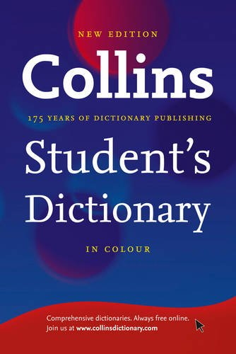 Collins Student's Dictionary By Collins Dictionaries