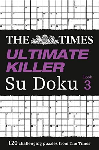 The Times Ultimate Killer Su Doku Book 3 By . The Times Mind Games