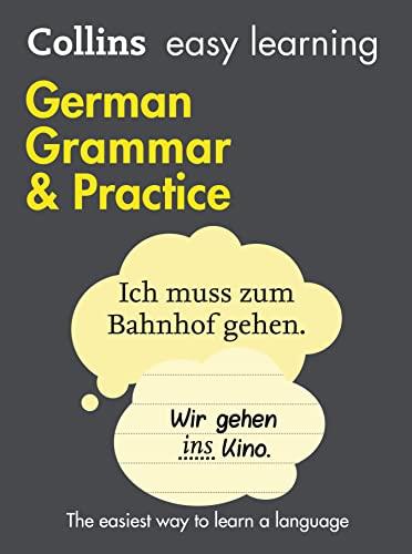 Easy Learning German Grammar and Practice von Collins Dictionaries