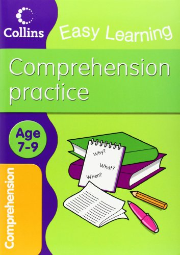 Easy Learning: Comprehension Ages 7-9 by Collins Easy Learning