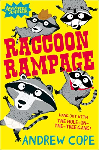 Raccoon Rampage By Andrew Cope