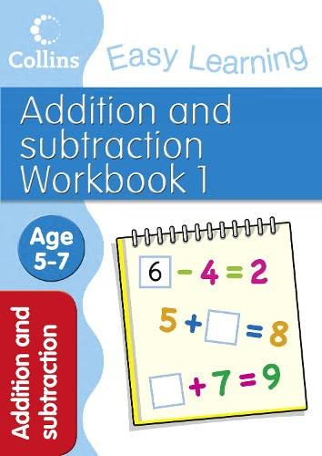 Addition and Subtraction Workbook 1 By Collins Easy Learning