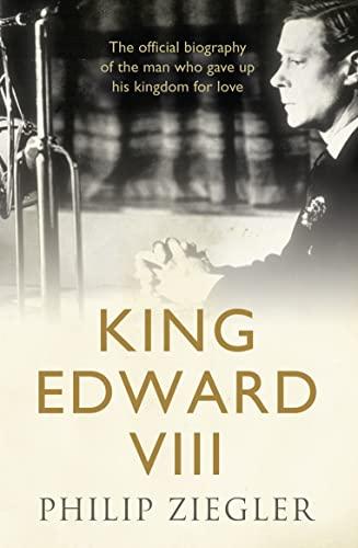 King Edward VIII von Philip Ziegler