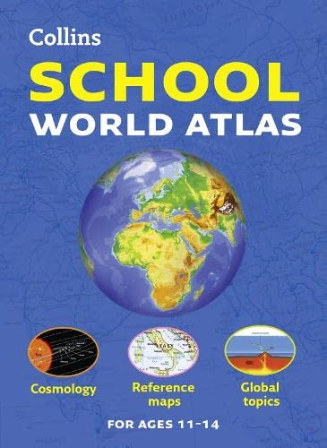 Collins School World Atlas by Collins Maps