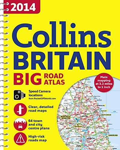2014 Collins Big Road Atlas Britain By Collins Maps