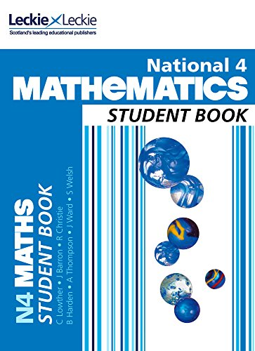 National 4 Maths Student Book By Craig Lowther