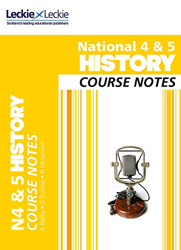 National 4/5 History Course Notes By Maxine Hughes