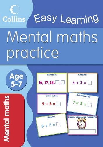 Mental Maths: Age 5-7 by Peter Clarke