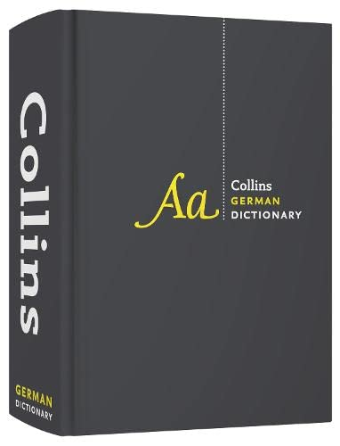 Collins German Dictionary Complete and Unabridged edition: 500,000 translations by Collins Dictionaries
