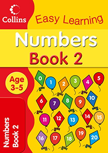 Numbers Age 3-5 By Collins Easy Learning
