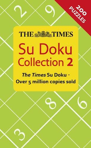 The Times Su Doku Collection 2 by The Times Mind Games