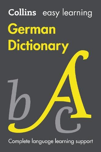 Easy Learning German Dictionary (Collins Easy Learning German) By Collins Dictionaries