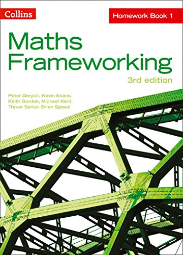 KS3 Maths Homework Book 1 By Peter Derych
