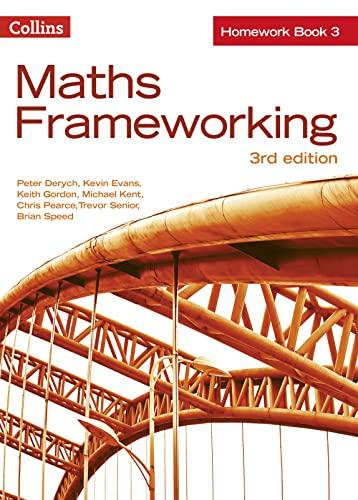 KS3 Maths Homework Book 3 By Peter Derych
