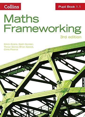 KS3 Maths Pupil Book 1.1 By Kevin Evans