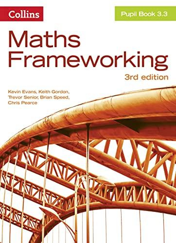 KS3 Maths Pupil Book 3.3 By Kevin Evans