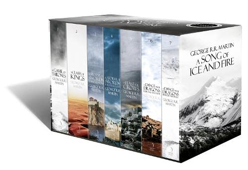 A Song of Ice and Fire - A Game of Thrones: The Story Continues: The complete box set of all 7 books by George R. R. Martin
