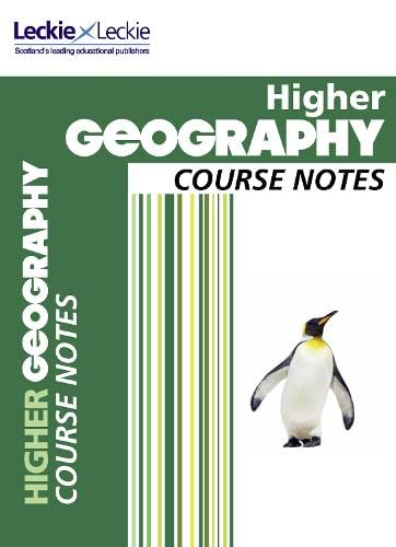 CfE Higher Geography Course Notes (Course Notes) by Sheena Williamson