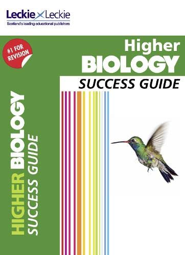 Success Guide for SQA Exams – CfE Higher Biology Success Guide By John Di Mambro