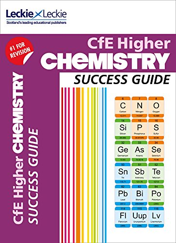 Success Guide for SQA Exams – CfE Higher Chemistry Success Guide By Bob Wilson
