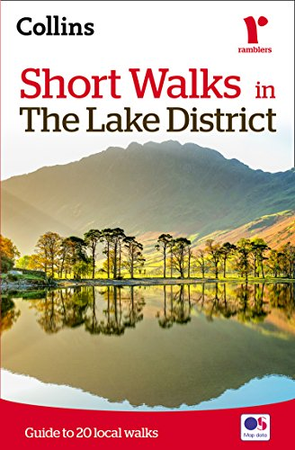 Short walks in the Lake District (Collins Ramblers) By Collins Maps