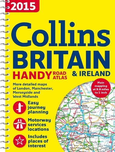 2015 Collins Handy Road Atlas Britain [New Edition] By Collins Maps