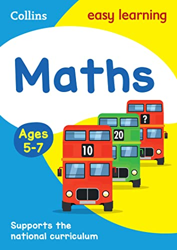 Maths Ages 5-7 (Collins Easy Learning KS1) by Collins Easy Learning
