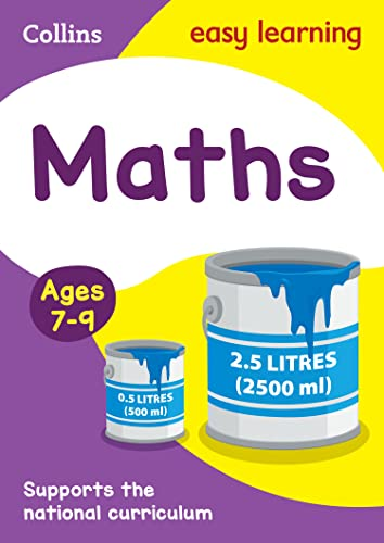 Maths Ages 7-9 By Collins Easy Learning