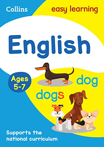 English Ages 5-7 (Collins Easy Learning KS1) by Collins Easy Learning