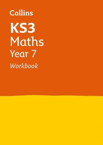KS3 Maths Year 7 Workbook (Collins KS3 Revision) By Collins KS3