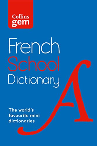 Collins French School Gem Dictionary By Collins Dictionaries