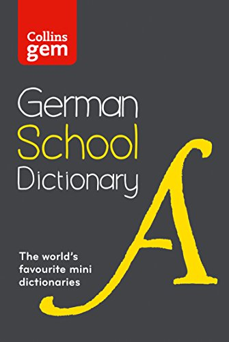 German School Gem Dictionary By Collins Dictionaries