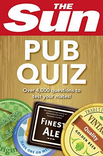 The Sun Pub Quiz (Quiz Books) By The Sun