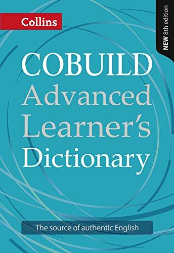 Collins COBUILD Advanced Learner's Dictionary By Collins Cobuild