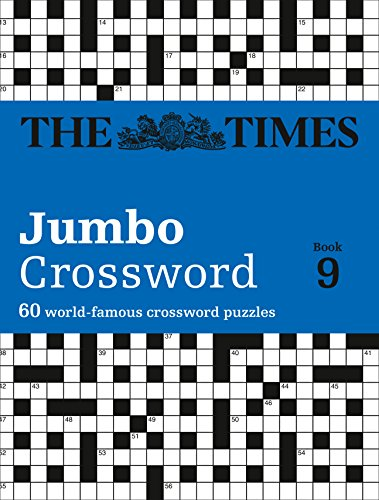 The Times 2 Jumbo Crossword Book 9 By . The Times Mind Games