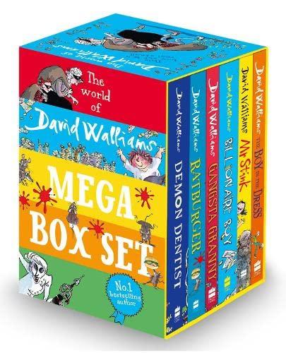 The World of David Walliams: Mega Box set By David Walliams