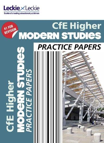Higher Modern Studies Practice Papers By Fiona Weir