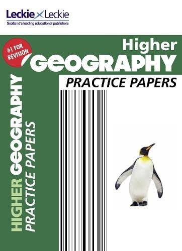 CfE Higher Geography Practice Papers for SQA Exams (Practice Papers for SQA Exams) by Kenneth Taylor