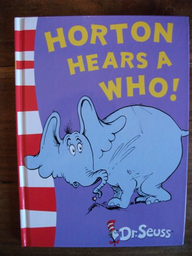 Horton Hears A Who HB Special By Dr. Seuss
