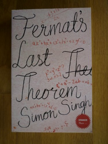 Fermat's Last Theorem By Singh  Simon