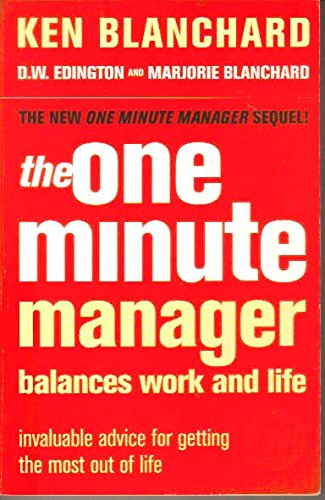 The One Minute Manager Balances Life and Work