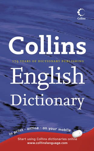 Collins English Dictionary: Home Edition By Not Stated