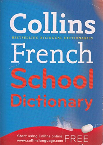 Collins French School Dictionary By MICHELA CLARI