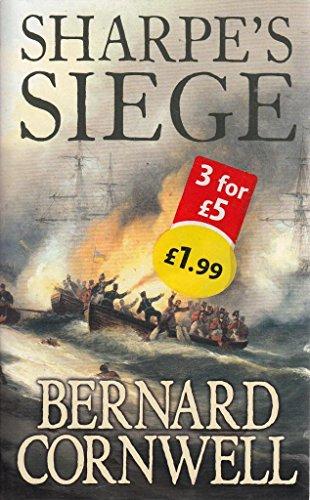 Sharpe's Siege By Bernard Cornwell