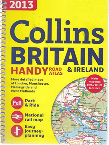 Collins Britain & Ireland 2013 Handy Road Atlas, by Collins, Spiral bound, Maps and Atlases