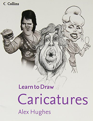 Collins Learn to Draw Caricatures By Alex Hughes