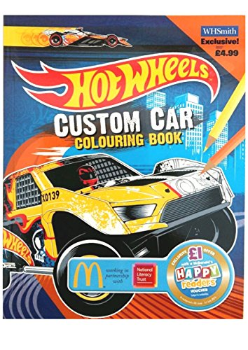 Custom Car Colouring Book Extra by