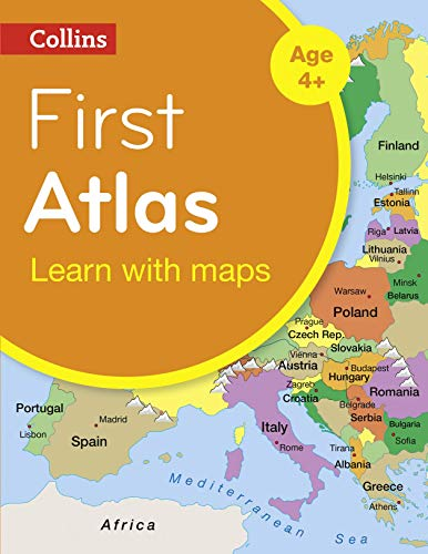 Collins First Atlas (Collins Primary Atlases) By Collins Maps