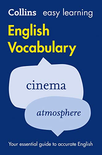 Collins Easy Learning English - Easy Learning English Vocabulary By Collins Dictionaries